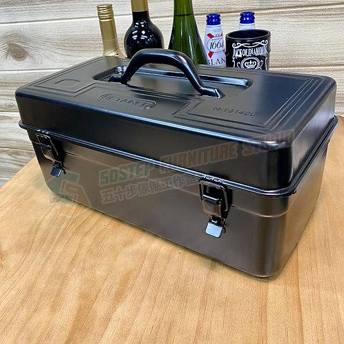 全新磨砂黑出口款鐵皮工具箱 Brand New tool box 410B, black