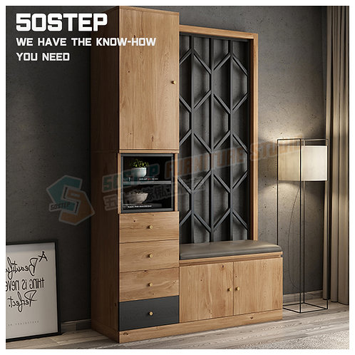 全新摩登精品鞋櫃屏風腳櫈 Brand New modern cabinet with bench