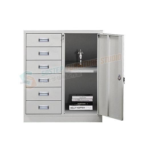 全新辦公室一門六桶鋼文件櫃 Brand New file cabinet w keys