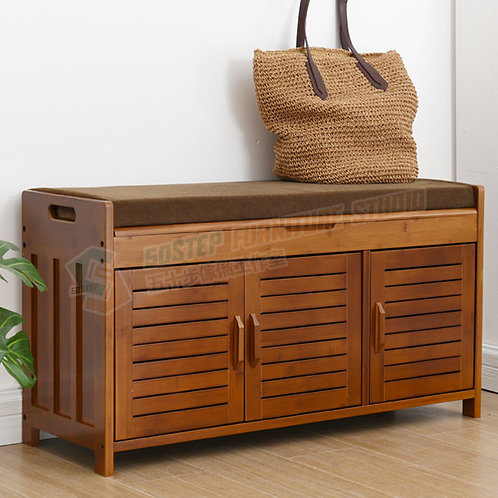 免費送貨楠竹儲物腳凳 Free shipping storage bench, bamboo