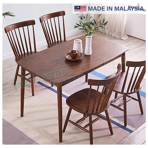 全新馬來西亞製造餐檯/連餐椅 Brand New solid wood dinning table/w chairs, made in Malaysia