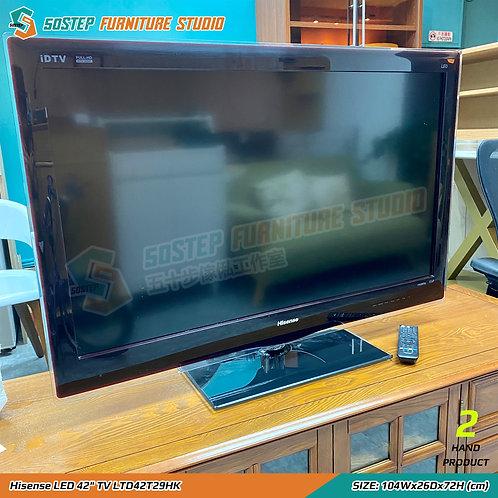 """海信42吋高清液晶顯示電視機 Hisense LED 42"""" TV LTD42T29HK"""