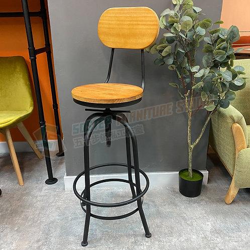 全新美式酒吧新西蘭進口實木旋轉升降吧椅 Brand New solid wood bar chair