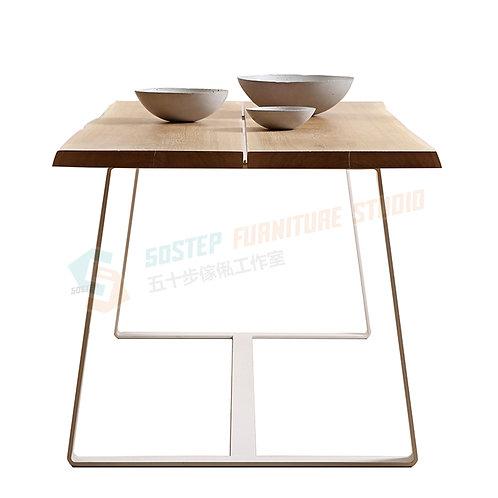 免費送貨新西蘭進口原木鐵藝餐檯/長櫈 Free shipping dinning table/bench