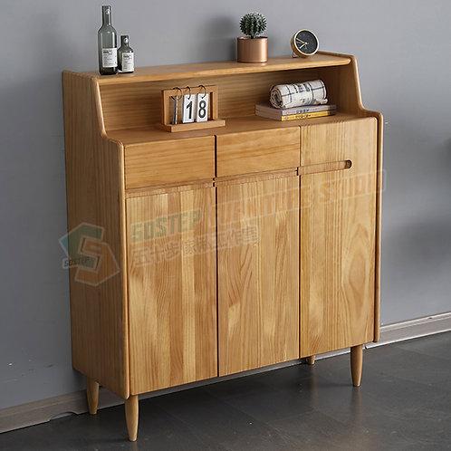 全新進口實木造型鞋櫃 Brand New solid wood shoe cabinet