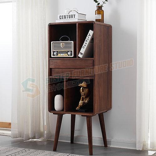 全新進口實木圓腳書櫃書架 Brand New solid wood shelving unit