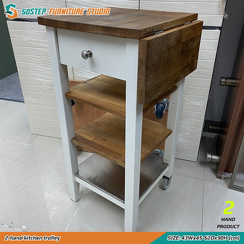 二手廚房活動几 2-hand kitchen trolley