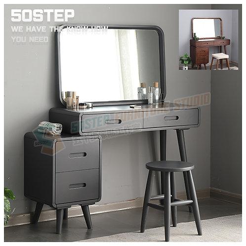 全新進口實木拉伸檯面設計梳妝檯 Brand New mirror dressing desk