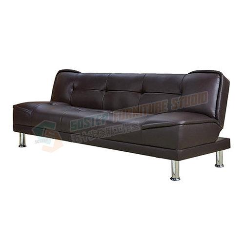 全新特短設計PU皮梳化床 Brand New PU leather sofa bed
