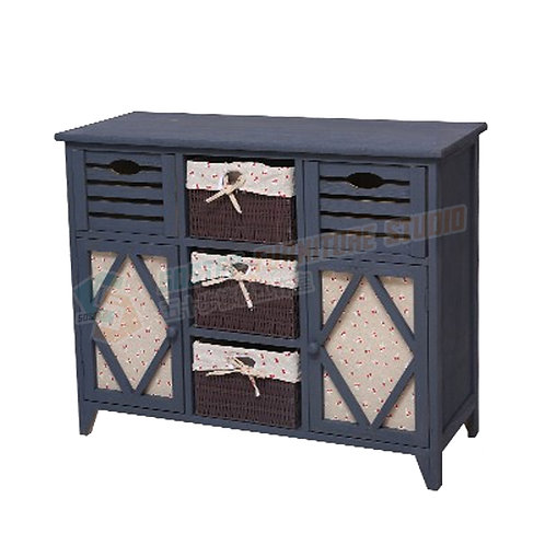 免費送貨懷舊布籃儲物櫃 Free shipping cabinet with baskets