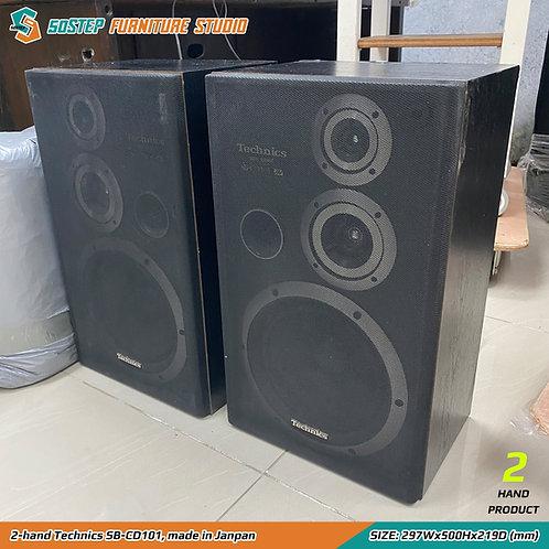 二手日本製喇叭 2-hand Technics SB-CD101, made in Janpan