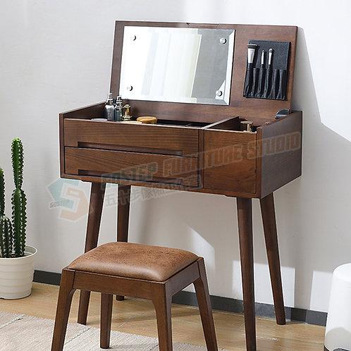 全新進口櫸木藏鏡梳妝檯/+櫈 Brand New mirror dressing desk/+stool