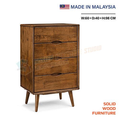 全新馬來西亞製造實木四桶儲物櫃 Brand New solid wood cabinet, made in Malaysia
