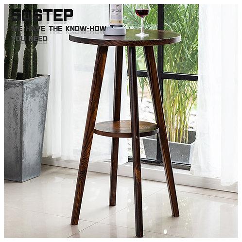 全新碳化實木圓形吧檯 Brand New solid wood bar table