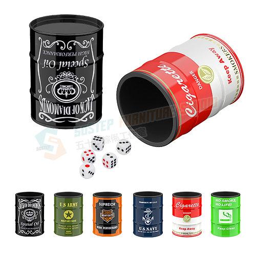 全新創意設計骰盅連骰仔 Brand New dice cup