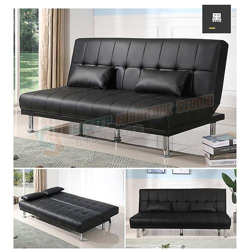 免費送貨PU皮輕便摺疊梳化床 Free shipping PU leather sofa bed