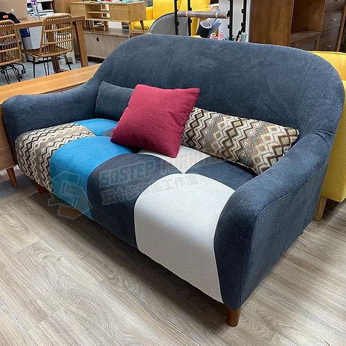 全新復古拼布花紋梳化 Brand New sofa, fabric
