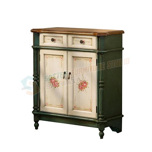 全新美式鄉村彩繪儲物櫃鞋櫃 Brand New cabinet