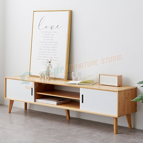 全新楠竹電視櫃 Brand New TV cabinet, bamboo