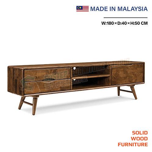 全新馬來西亞製造實木電視櫃 Brand New solid wood TV cabinet, made in Malaysia