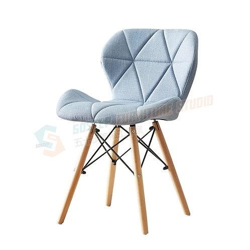全新日式櫸木布藝餐椅餐 Brand New dinning chair