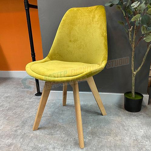 全新實木絨面防滑餐椅 Brand New chair