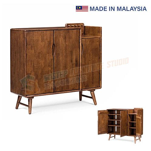 全新馬來西亞製造實木鞋櫃 Brand New solid wood shoe cabinet, made in Malaysia