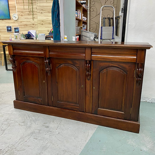 五十步製/翻新實木紅木古典三桶三門儲物櫃 50STEP/renewed cabinet, solid wood