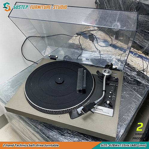 二手中古經典皮帶唱盤 2-hand Technics belt-drive turntable