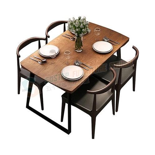 全新圓角設計美國進口實木餐檯/餐檯餐椅組合 Brand New solid wood dinning table/table w chairs