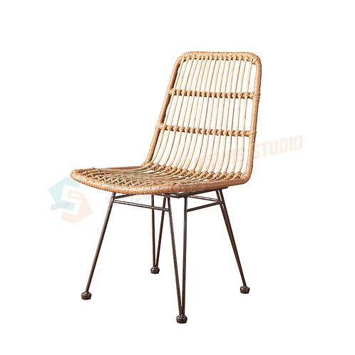 全新日式手工戶外藤製餐椅 Brand New chair