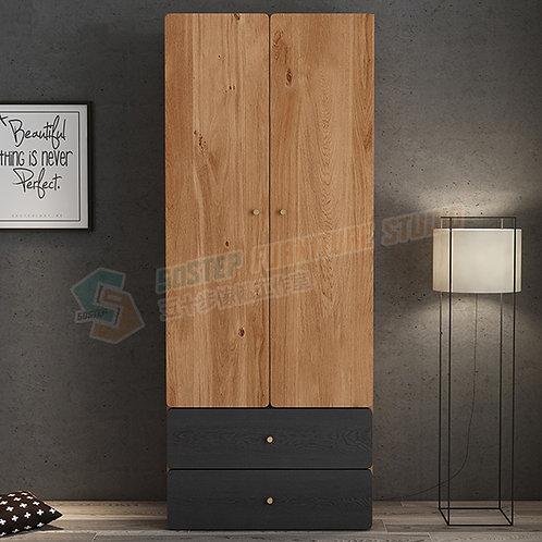 全新摩登精品雙門衣櫃 Brand New modern wardrobe with drawers