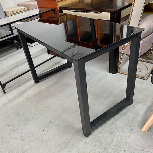 八成新鏡面玻璃書檯 2-hand glass desk