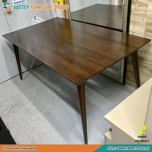 八成新實木餐檯 2-hand dinning table