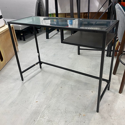 二手玻璃書檯 2-hand desk, glass