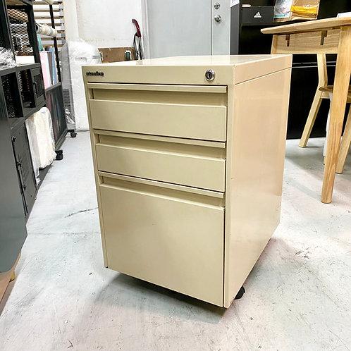 二手辦公室鋼活動櫃 2-hand office drawer metal cabinet w wheels