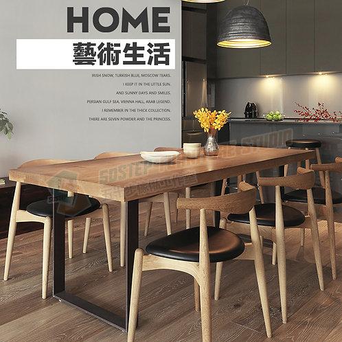 全新可訂造美國進口實木重工業餐檯/連餐椅 Brand New solid wood dinning table/table with chairs