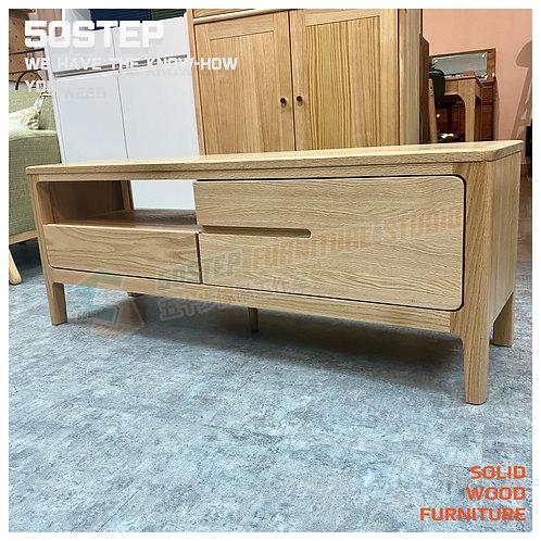 全新FAS等級紅橡木微型實木電視櫃 Brand New solid wood TV cabinet