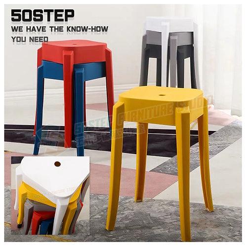 全新可疊膠櫈 Brand New stool, plastic