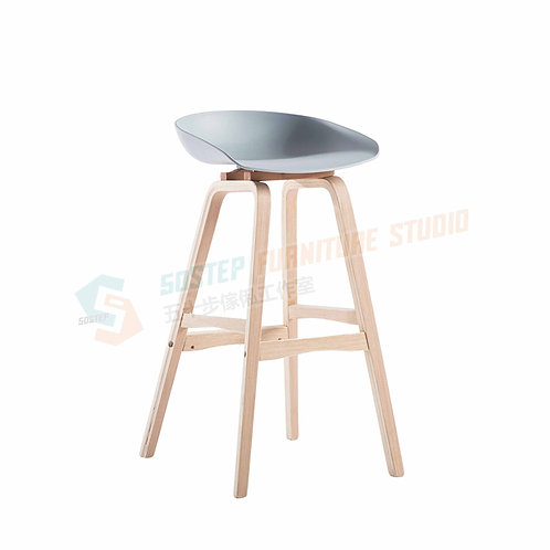 全新日式實木吧椅 Brand New solid wood bar stool