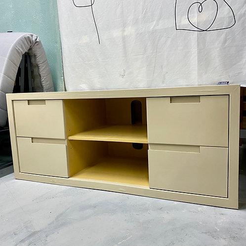 免費五十步翻新復古實木電視櫃 Free 50STEP renewed TV cabinet, solid wood