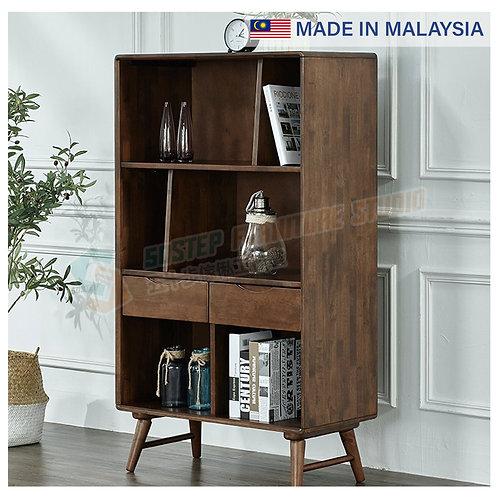 全新馬來西亞製造實木書櫃 Brand New solid wood bookcase, made in Malaysia