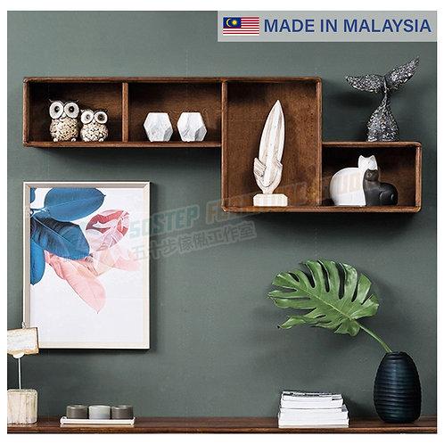 全新馬來西亞製造實木四格吊櫃 Brand New solid wood wall cabinet, made in Malaysia