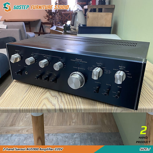 二手山水擴音機 2-hand Sansui AU5900 Amplifier 220V