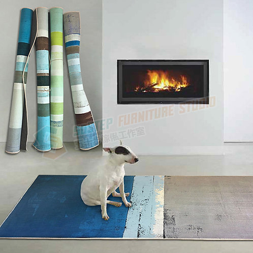 全新可訂造彩色間條地氈 Brand New rug
