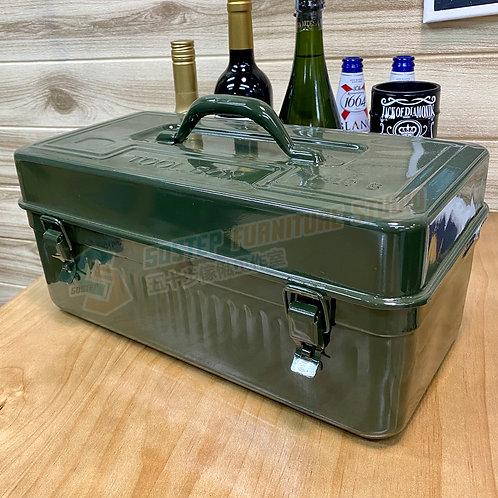 全新復刻懷舊雙層鐵皮工具箱 Brand New tool box 410B