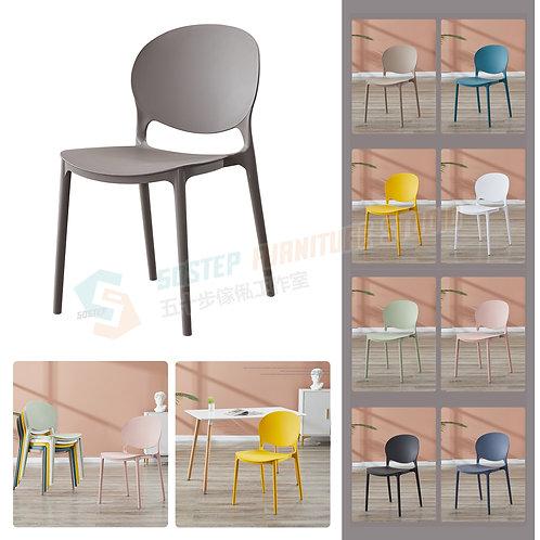 全新可疊式加厚膠椅餐椅 Brand New dinning chair