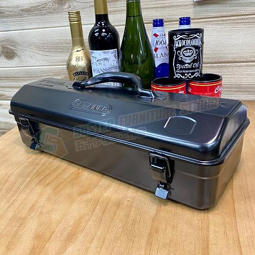 全新暗黑鐵皮工具箱 Brand New tool box Y410, black