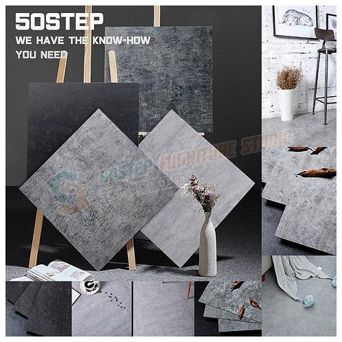 全新德國進口油性膠加厚自黏PVC水泥膠地板 Brand New self adhesive PVC floor tiles