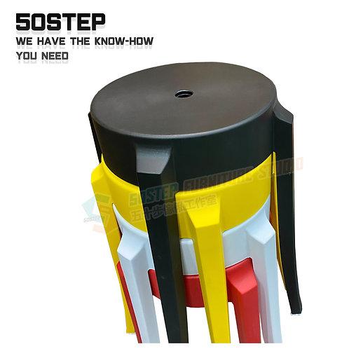 全新可疊圓形膠櫈 Brand New stool, plastic